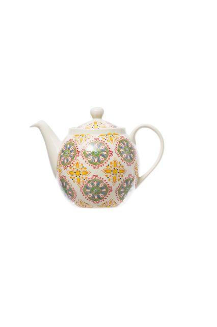 Une théière au look coloré pour prendre son thé dans la bonne humeur
