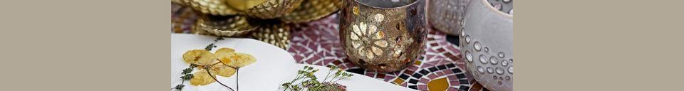 Mise en avant matière Vase Aignan en grès