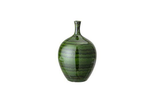 Vase Amazy vert en grès Détouré