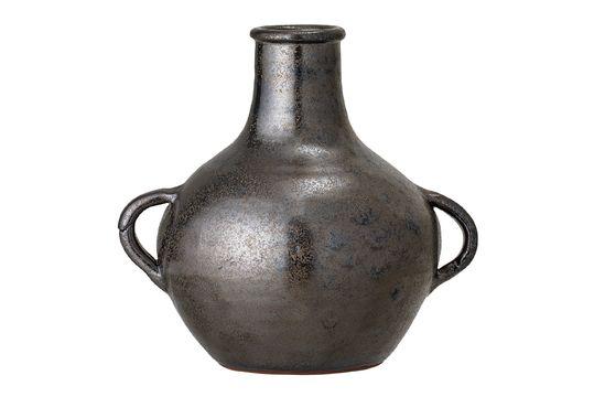Vase Calzan en terre cuite noire