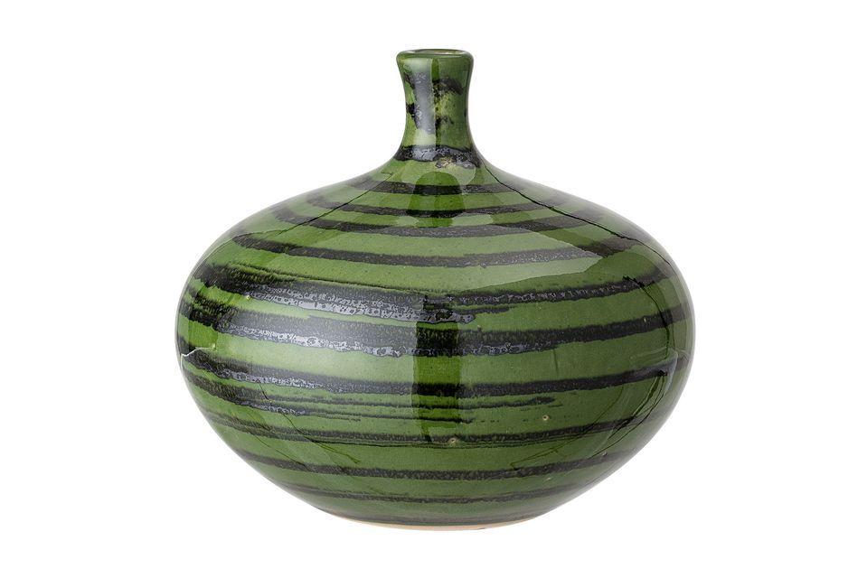 Vase Landroff en grès vert Bloomingville