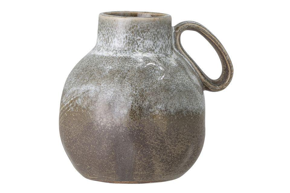 Vase Messy en grès Bloomingville