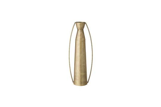 Vase Omicourt en métal doré Détouré