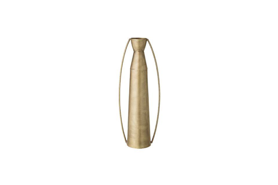 Vase Omicourt en métal doré Bloomingville