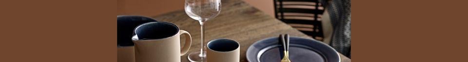 Mise en avant matière Verre à vin Alva