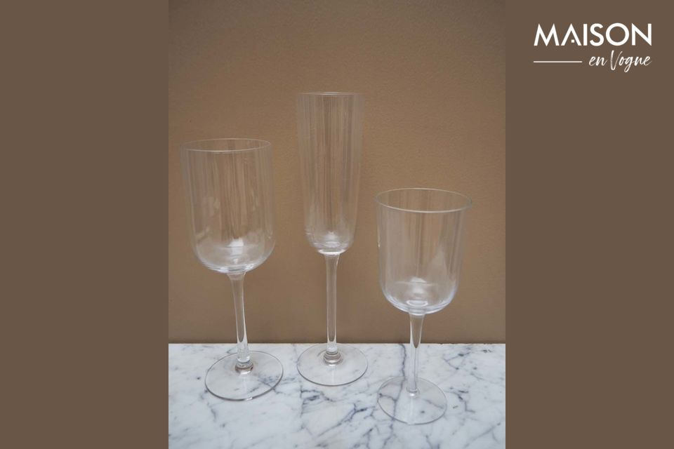 Ce verre à vin rouge Victoria vous séduira si vous aimez la simplicité