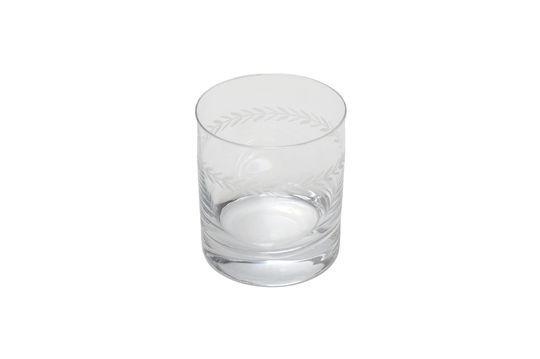 Verre à whisky Laurier gravé