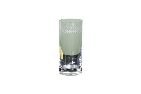 Verre long drink Laurier gravé