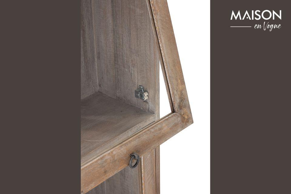 Une vitrine au style rétro pour toutes vos collections